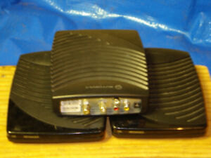 Three Motorola Cable Boxes, Standard Definition DCT700