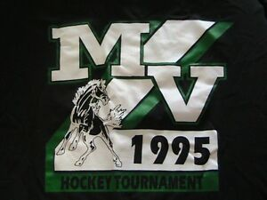 MV 1995 HOCKEY TOURNAMENT HANES T SHIRT