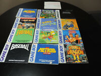 Book/manual , Nintendo 64, Super nintend, Gameboy