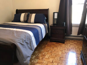 Furnished Room  all incl - Tétreaultville - 30 min downtown Mtl