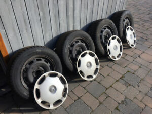 Set Of 4 - Volvo Winter/Snow Tires and Rims