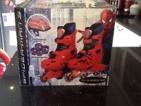 SPIDER-MAN BRAND NEW BOXED INLINE SKATES