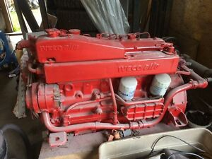 6 cyl. diesel motor iveco aifo