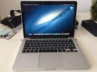 "MacBook Pro Retina 13"" (RRP 1249.00) with extras"