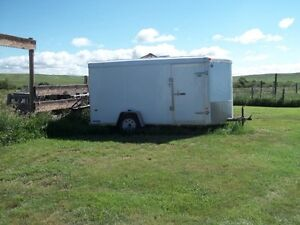 "2008 US CARGO ""VEE"" NOSE Enclosed Trailer  (6 x 12)"