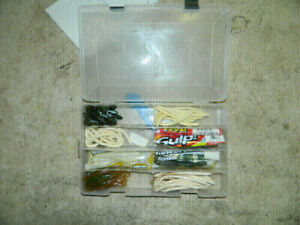New box of fishing rubber worms