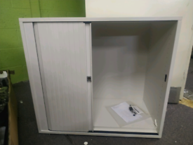 Steelcase File cabinet with sliding door
