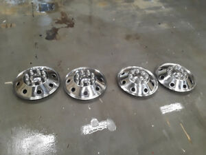 Stainless RV Wheel Covers