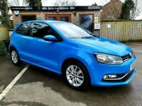 65 REG VOLKSWAGEN POLO 1.2 TSI ( 90ps ) ( BMT ) ( S/S ) SE IN MAYAN BLUE