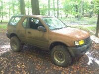Vauxhall frontera 4x4 off roader rat rod style!