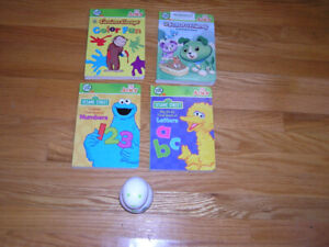 LEAP FROG TAG JUNIOR BOOKS (4)