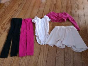 Vêtements danse/ gymnastique 3-4