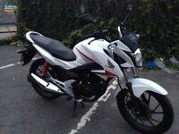 Honda CBF 125,White 2016 year ,cb125,glr