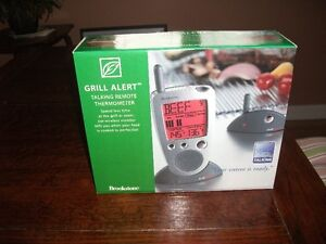 Brand New In Box Brookstone Electronic Grill Temperature Gauge
