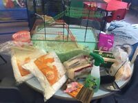 Gerbils and accessories