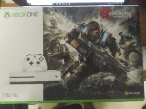 Xbox One S 1TB Gears of War Edition w/ Xbox headset.