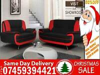 50% Off BRAND NEW 3+2 LEATHER SEATER SOFA SUITE