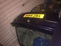 Astra mk4 boot blue