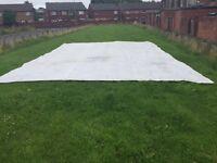 Used tarpaulin for sale