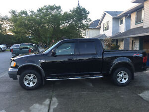 2003 Ford F-150 Pickup Truck with 1999 23' Komfort 5th Wheel
