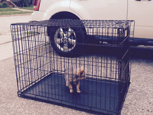 Extra large dog crate/cage $70