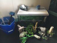 Fish tank & accessories