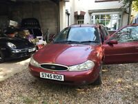 Ford Mondeo estate 2.5 GHIA X only 78,000 miles
