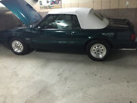 Ford mustang 1990 7up edition