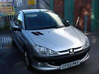 Peugeot 206 1.1 2003MY Entice 1 previous owner, only 71000 miles SERVICE HISTORY