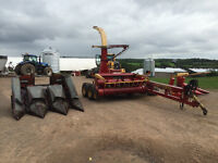 Dion 1224 XC Harvester with attachments