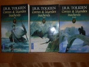 J.R.R Tolkien Contes et Légendes Inachevés 1-2-3