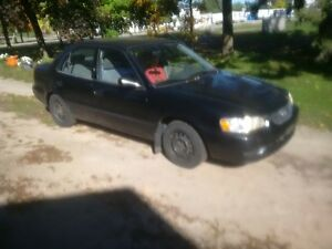 2001 Toyota Corolla Sedanat Kitchener / Waterloo Kitchener Area image 1