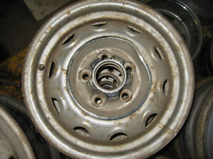 Duster/Charger/Cuda rally wheels, 15X6.5, sell trade