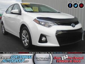 Toyota Corolla S | 1.8L | Heated Seats | Bluetooth | AC 2014