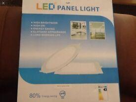Led panel light 18w