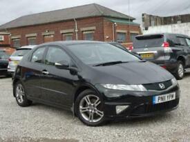 image for 2011 Honda Civic 1.4 i-VTEC Si 5dr +TELE BLUETOOTH +FSH +2 KEYS HATCHBACK Petrol