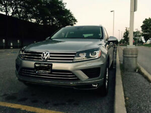 2015 Volkswagen Touareg V6 TDI TAKE OVER LEASE