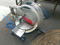"Mastercraft mitre saw 10"" very good condition"