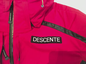 DESCENTE - Men's Large Winter Ski Coat