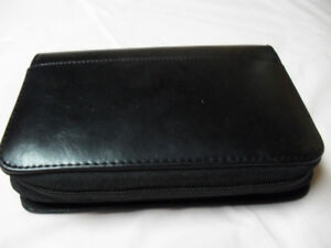 Wallet with two zippers New