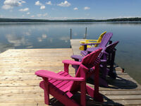 BRAND NEW ORILLIA COTTAGE BASS LAKE SUMMER RENTAL!!