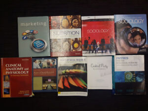 Textbooks for Sale!