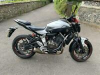 2015(15) Yamaha MT07 ABS - Pearl White - 12735 miles