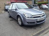 VAUXHALL ASTRA DESIGN 16V TWINPORT, Silver, Manual, Petrol, 2005