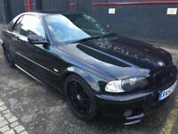 BMW 325 Ci M-SPORT AUTO..CONVERTIBLE+HARDTOP>LONG MOT..LEATHER..DRIVES GREAT