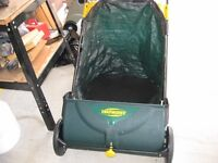 Yardworks grass and leaf sweeper