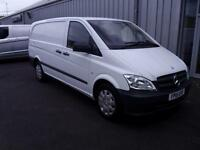 Mercedes-Benz Vito 2.1CDI 113 SWB in White + Roof Beacon - Onsite