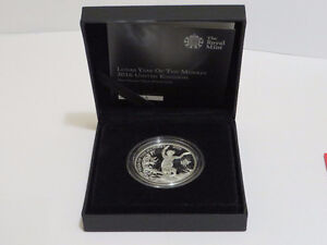 RM Lunar Year Of The Monkey 2016 1oz .999 Silver Proof £2 Coin