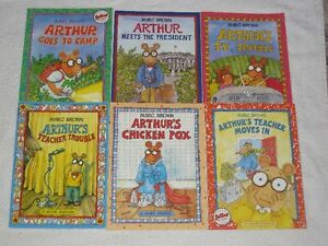 ARTHUR - CHILDRENS SOFTCOVER BOOKS **SPECIAL SALE**
