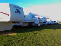 RV, Boat, Vehicle, Container storage